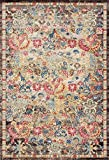 Lux Weavers 2955 Multi Colored Oriental 8 x 10 Area Rug Carpet Large New For Sale