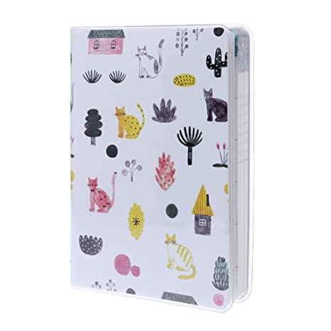 Junlinto Cute Daily Monthly Weekly Planner Notebook Agenda ...
