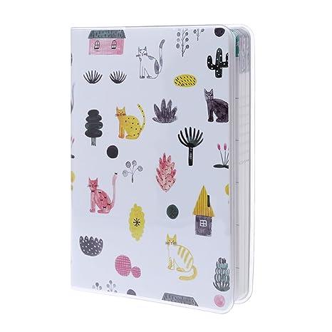 zrshygs Cuaderno de planificación Diario Diario mensual Planificador semanal Cuaderno Agenda Calendario Útiles Escolares Regalo F