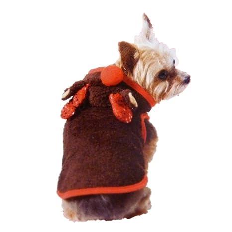 Amazon.com: Tiempo de día festivo Reno de peluche café perro ...