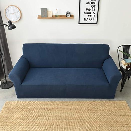 KDSFXG Juegos de sofás Polar Fleece Sofa Cover Thick ...