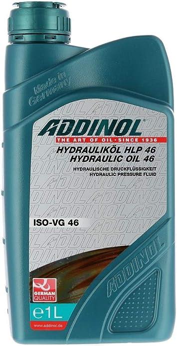 Addinol Addinol Hlp46 Hydrauliköl Duo Schwalbe Iso Sae 46 Mineralisch 1liter Auto
