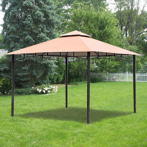 Garden Winds Replacement Canopy For Bc Metal Gazebo Riplock 350