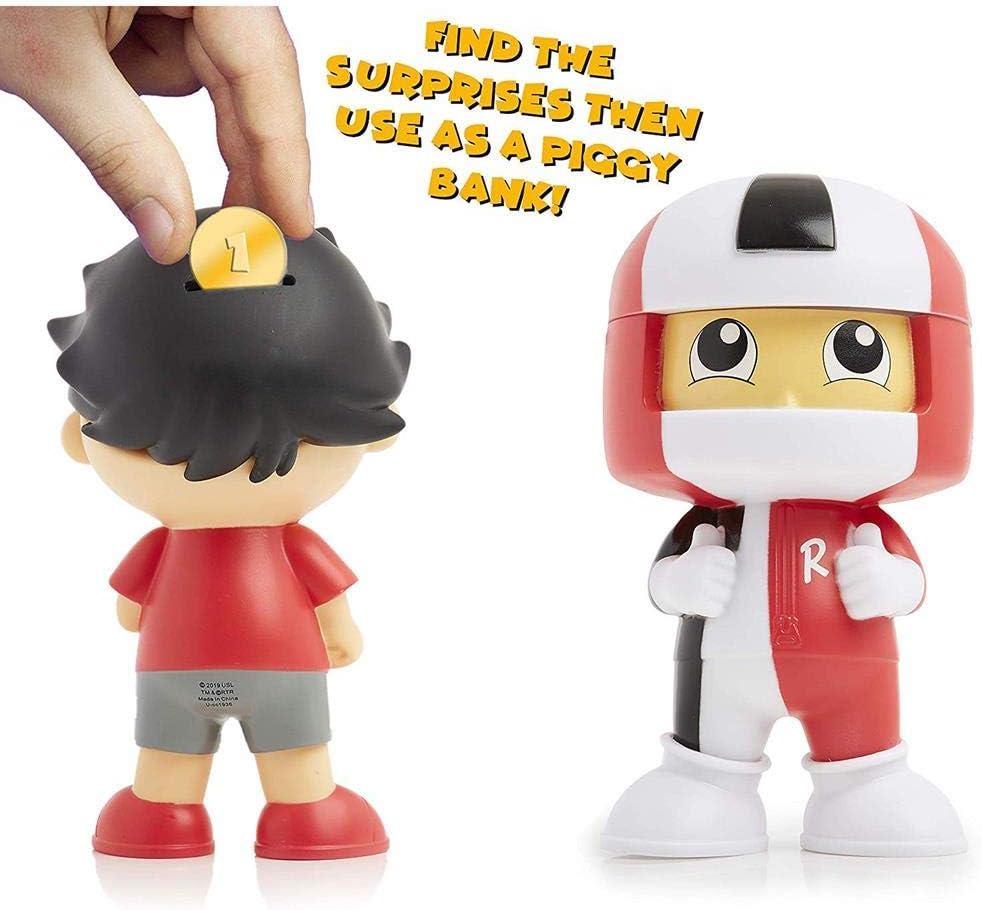 containing Both Ryan and Ryan in helmet Money Boxes Ryans World Toys Bundle
