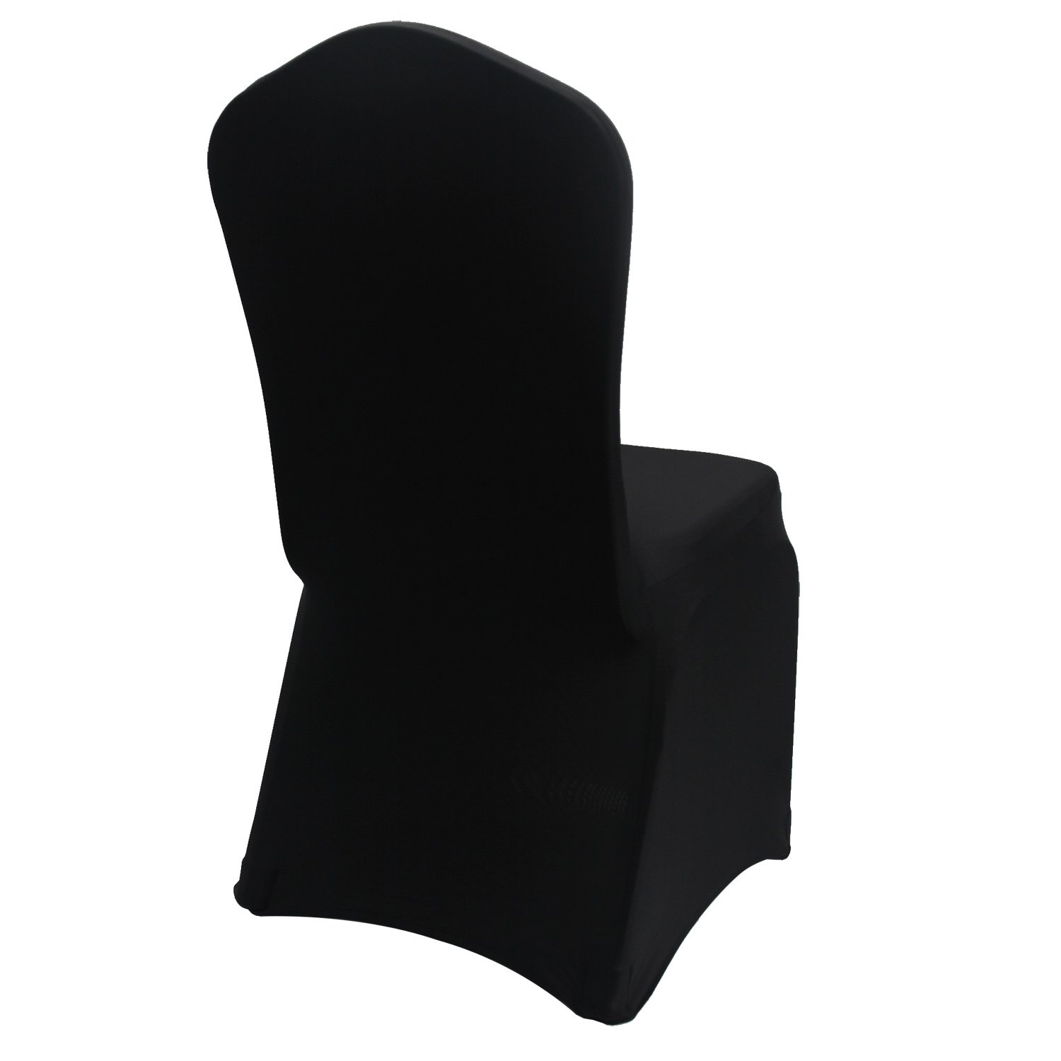 Cool Black Stretch Spandex Chair Covers Wedding Universal 50 Pcs Banquet Wedding Party Dining Decoration Scuba Elastic Chair Covers Black 50 Caraccident5 Cool Chair Designs And Ideas Caraccident5Info