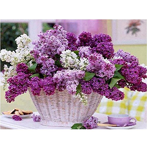 5D Diamond Mosaic Embroidery Lavender Painting Craft DIY Home Decor - 4