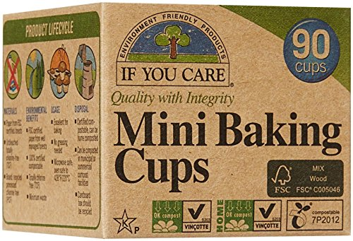 If You Care Mini Baking Cups - FSC Certified, 90 ct (Stainless Steel Mini Muffin Pan)