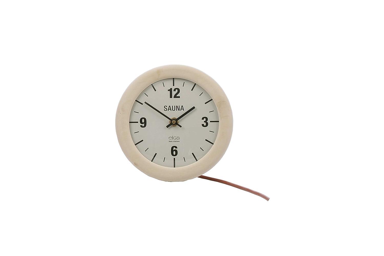 Eliga Sauna-Uhr elektrisch, elektrisch, elektrisch, rund Ø210 mm fe657c