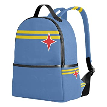 Mochila Escolar con la Bandera de Aruba, para niñas, Galaxia, Bolsos Escolares,