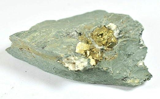 Specimen Pizarra natural con cristales de pirita – Dorothea Quarry ...