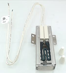 Compatible Oven Igniter for Frigidaire FFGF3047LSF, Kenmore / Sears 79070603014, Frigidaire FGF379WJCB, Tappan TGF355BHWF Range