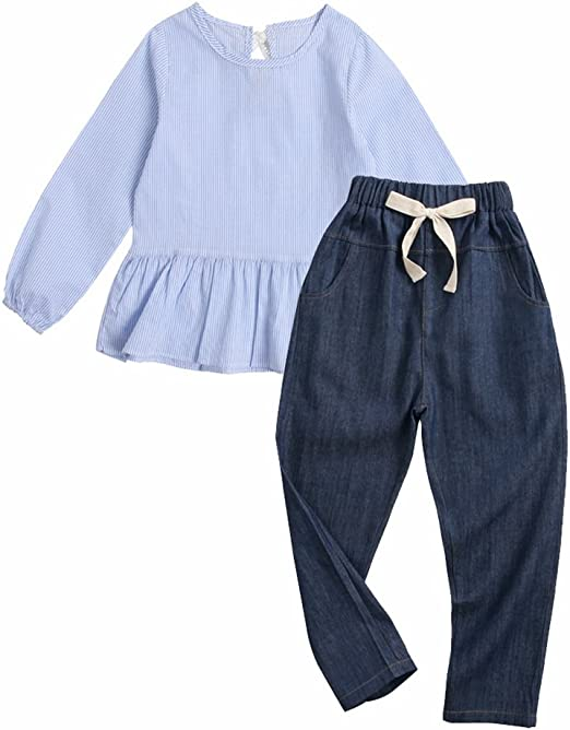 Sanlutoz Casual Baby Boys Jean Demin Pant Blue