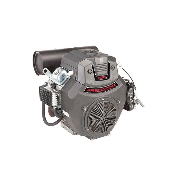 22 HP (670cc) V-Twin Horizontal Eje Motor de Gas EPA ...