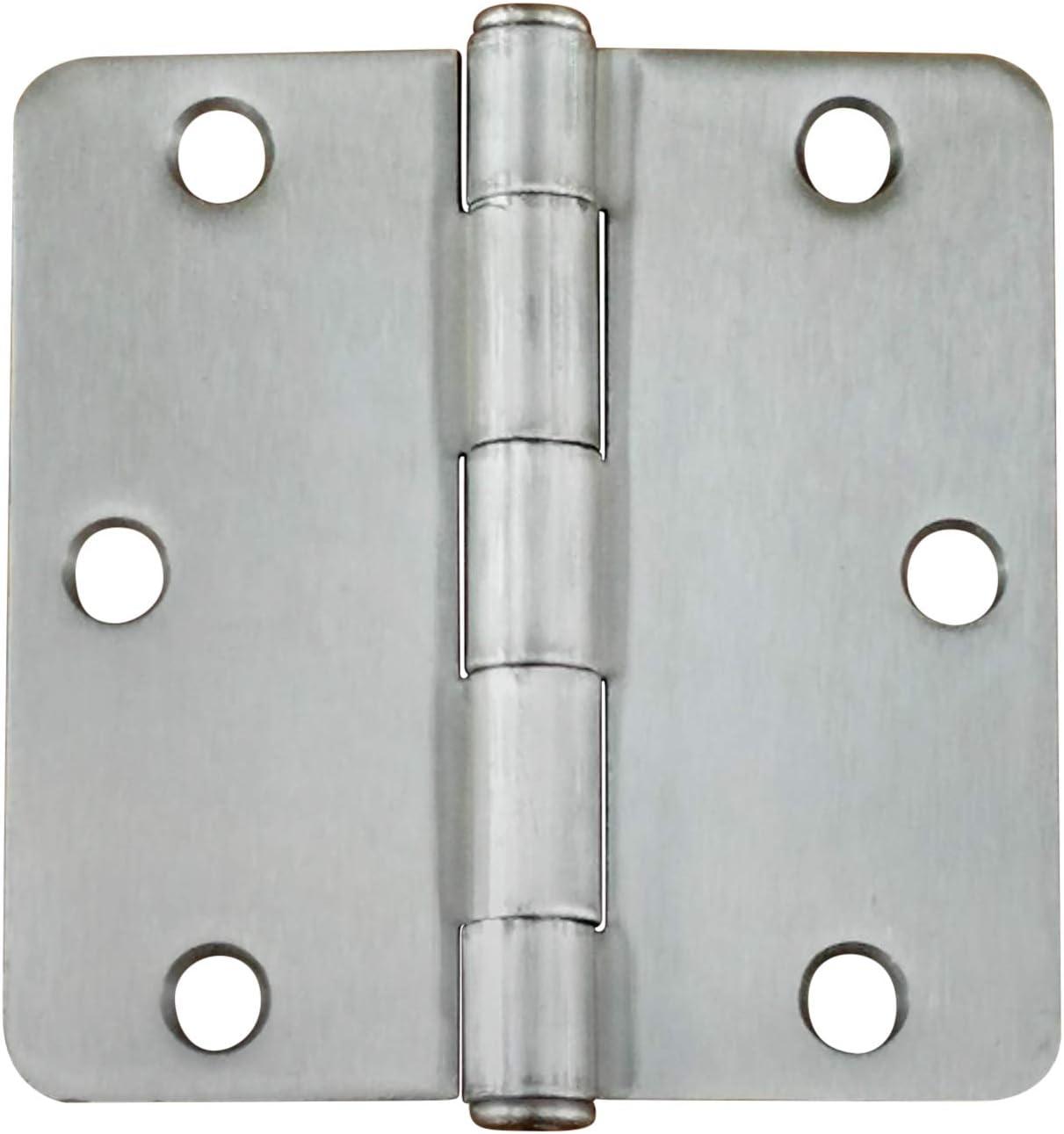 96 Pack Hinge Outlet Satin Nickel Wood Screws 9 X 2 1//4 Inch for Residential Door Hinges