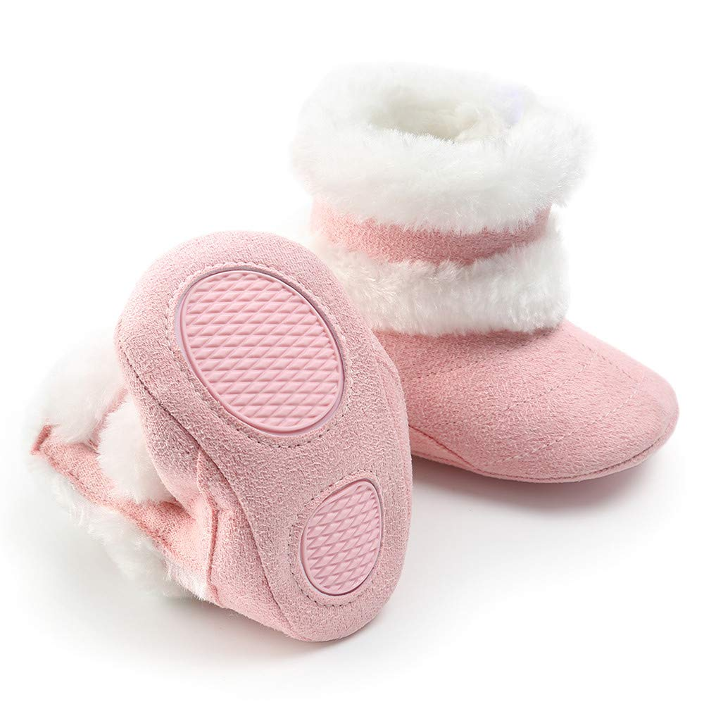 Toddler Snow Boots Baby Girl Boy Crib Shoes Soft Sole Winter Prewalker Warm Martin Infant Casual Shoes