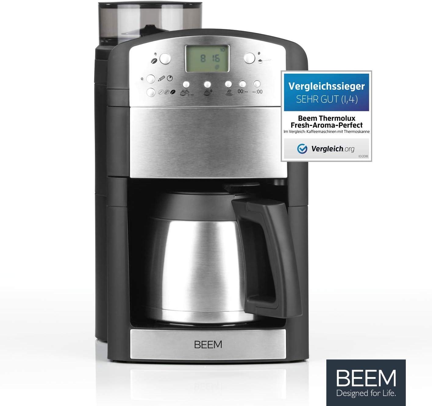 BEEM Germany Fresh-Aroma-Perfect Thermolux - Máquina de café: Amazon.es: Hogar