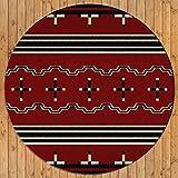 American Dakota - Big Chief - Red (8ft Dia)