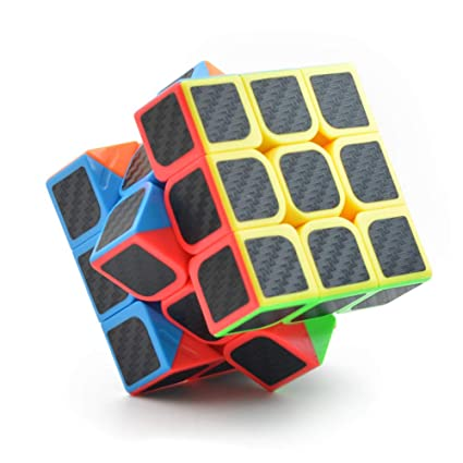 Alician 5.7x5.7x5.7CM Smooth Magic Cube Stress Reliever Toy