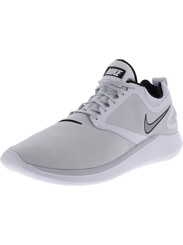 Pure Platinum Wolf grau-Weiß Nike Lunarsolo, Hausschuhe de Running para Hombre