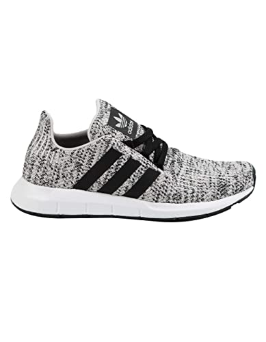 sports shoes 5bcbf e306c adidas Originals Kids Boys Swift Run J (Big Kid) GreyBlack 4 M