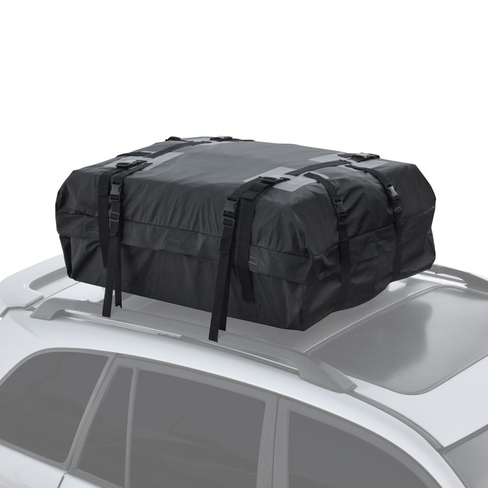 Motor Trend RC-200 Haul Waterproof Roof Top Cargo Bag for Suv Van Car Auto (Soft Rooftop Carrier XL Supersonic Seals Heavy Duty Gear)