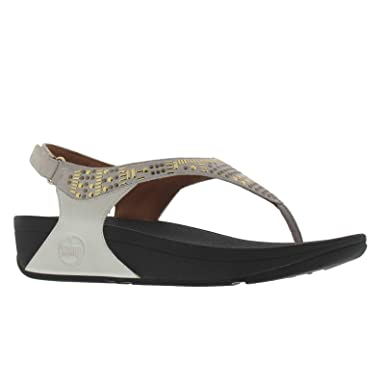 9fe5b11c5 FitFlopTM Aztek Chada Sandal Urban White 3 UK  Amazon.co.uk  Clothing