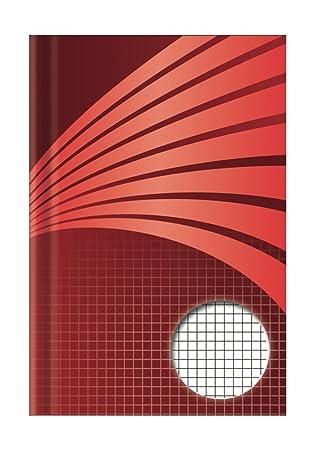 Toppoint 76361 Gesch/äftsb/ücher Registerb/ücher Notizb/ücher Uws plus Normal Kladde A6 96 Blatt kariert