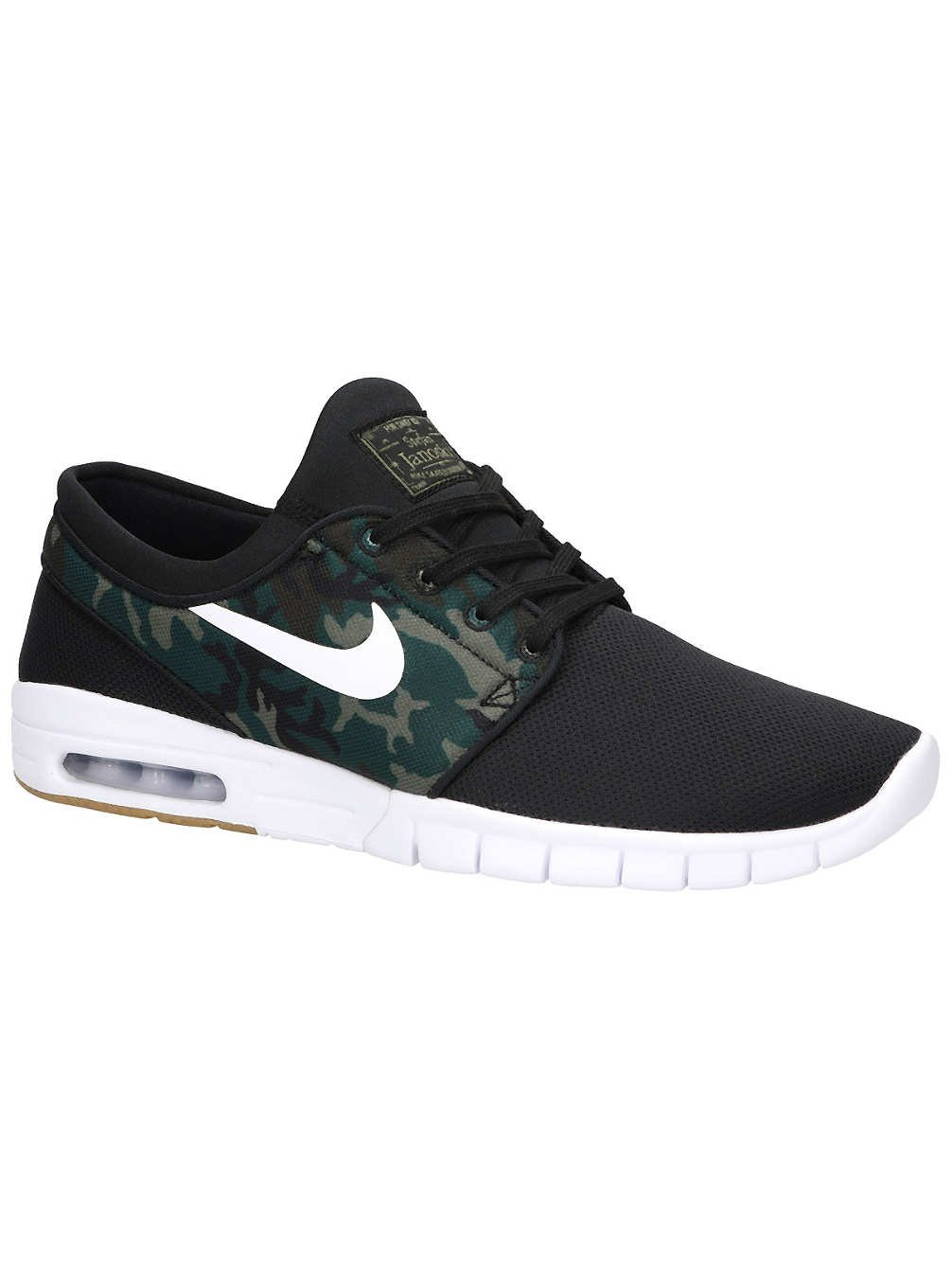 Nike SB Stefan Janoski Max Men's Shoes 14 D(M) US|Black/White-multi-color