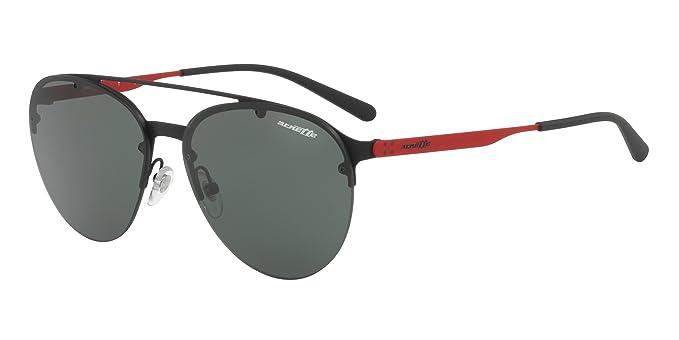 8222c745ea Image Unavailable. Image not available for. Color  Arnette Men s Dweet D  Non-Polarized Iridium Aviator Sunglasses black rubber 57.0 mm