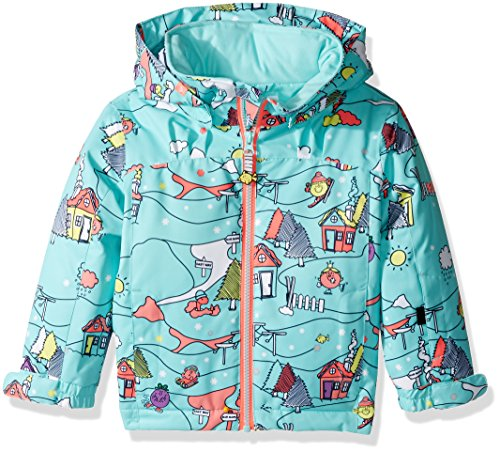 Roxy Little Girls' Mini Jetty Miss Snow Jacket, Aruba Blue_Little Miss Alpine, 6/7
