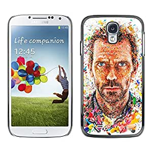 Plastic Shell Protective Case Cover || Samsung Galaxy S4 I9500 || Actor Portrait Man Painting @XPTECH