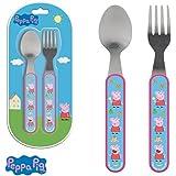 Children's Kids Stainless Steel Cutlery Peppa Pig