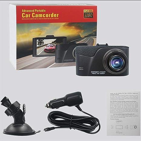 con G-Sensor EAVIO Conducir grabadora HD 1080P F2.4 Gran Apertura Conducir grabadora Grabaci/ón en Bucle Contiene Vision Nocturna Detecci/ón de Movimiento 32G Gran Angular de 170 /°