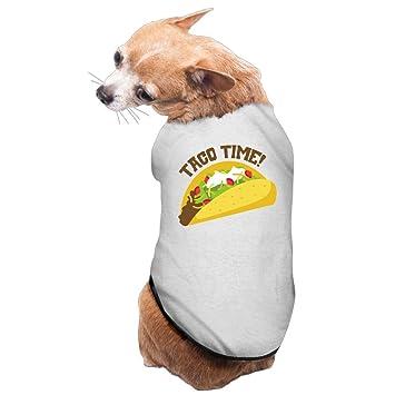 Taco tiempo tacos diseño de perros abrigos: Amazon.es: Productos para mascotas