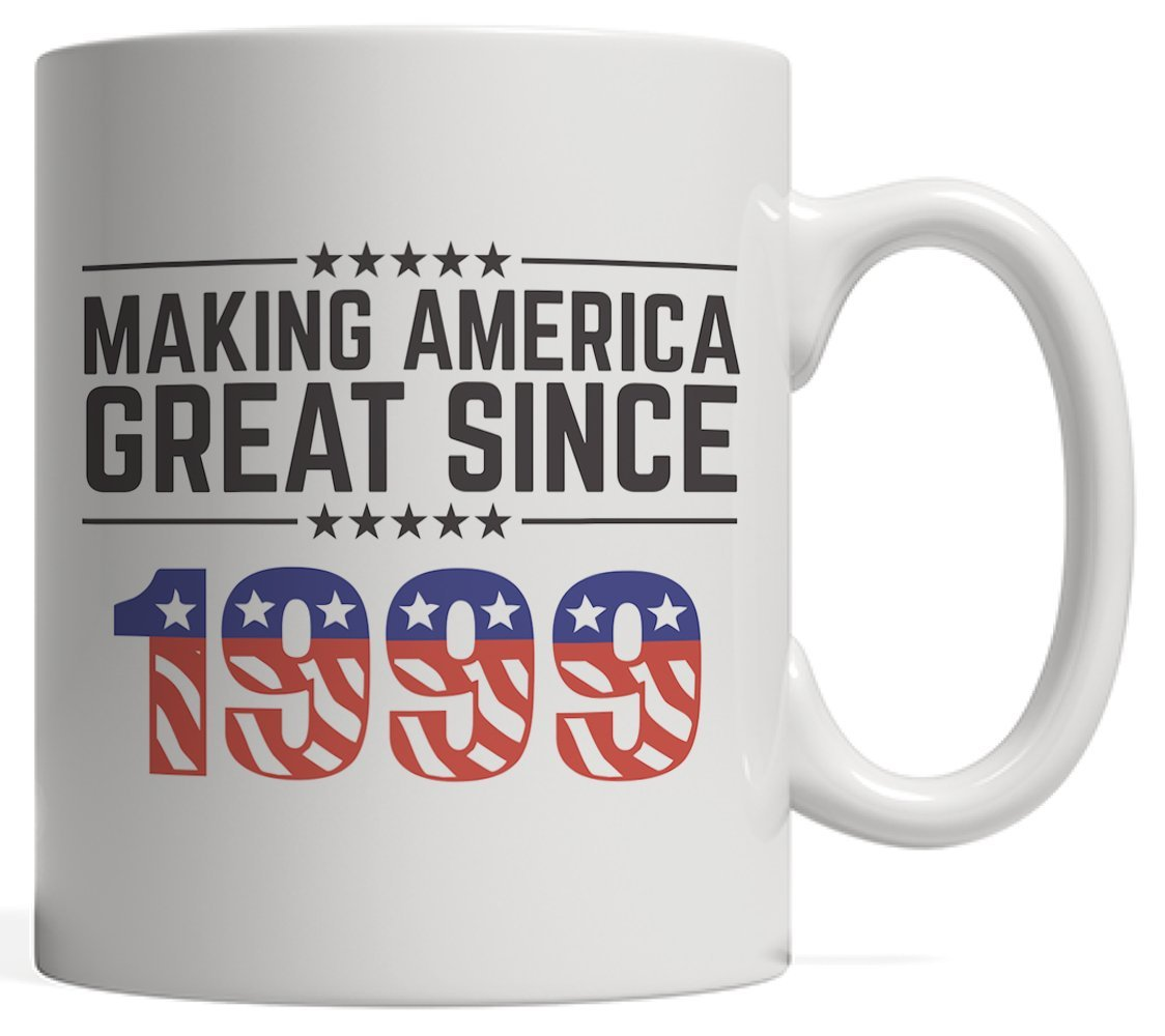 Making America Great Since 1999 Mug - USA Patriotic Anniversary 19th Birthday Gift Idea For Nineteen Years Old American Patriot Who Make This Country Greatness Every Year!