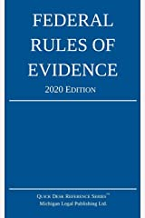 Federal Rules of Evidence; 2020 Edition: With Internal Cross-References Paperback