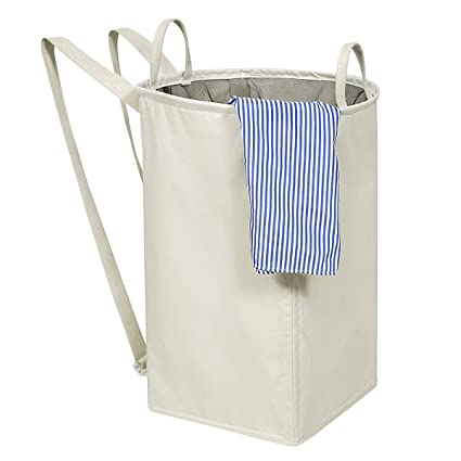 Foldable portable Laundry Basket Hamper Dirty Clothes Storage /& Organization