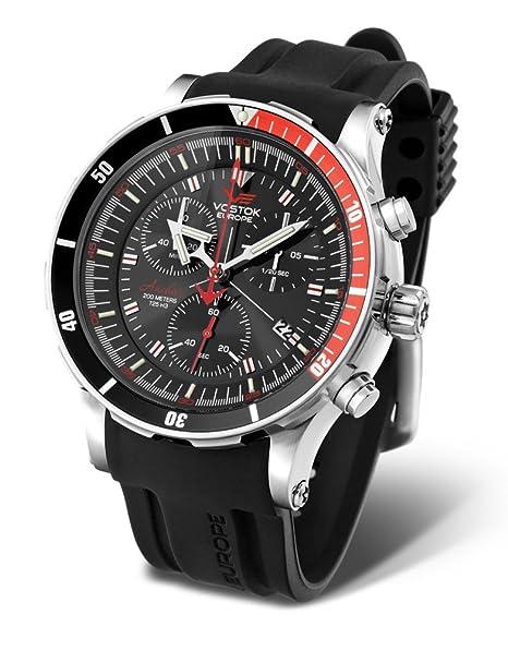 Vostok Europe 6S30/5105201 - Reloj, correa de silicona: Vostok Europe: Amazon.es: Relojes