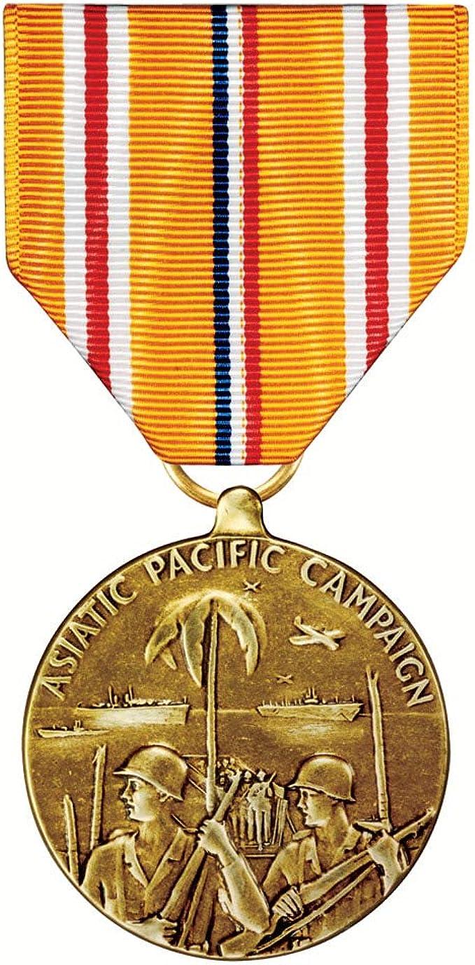 GENUINE U.S ASIATIC PACIFIC CAMPAIGN FULL SIZE RIBBON YARDAGE