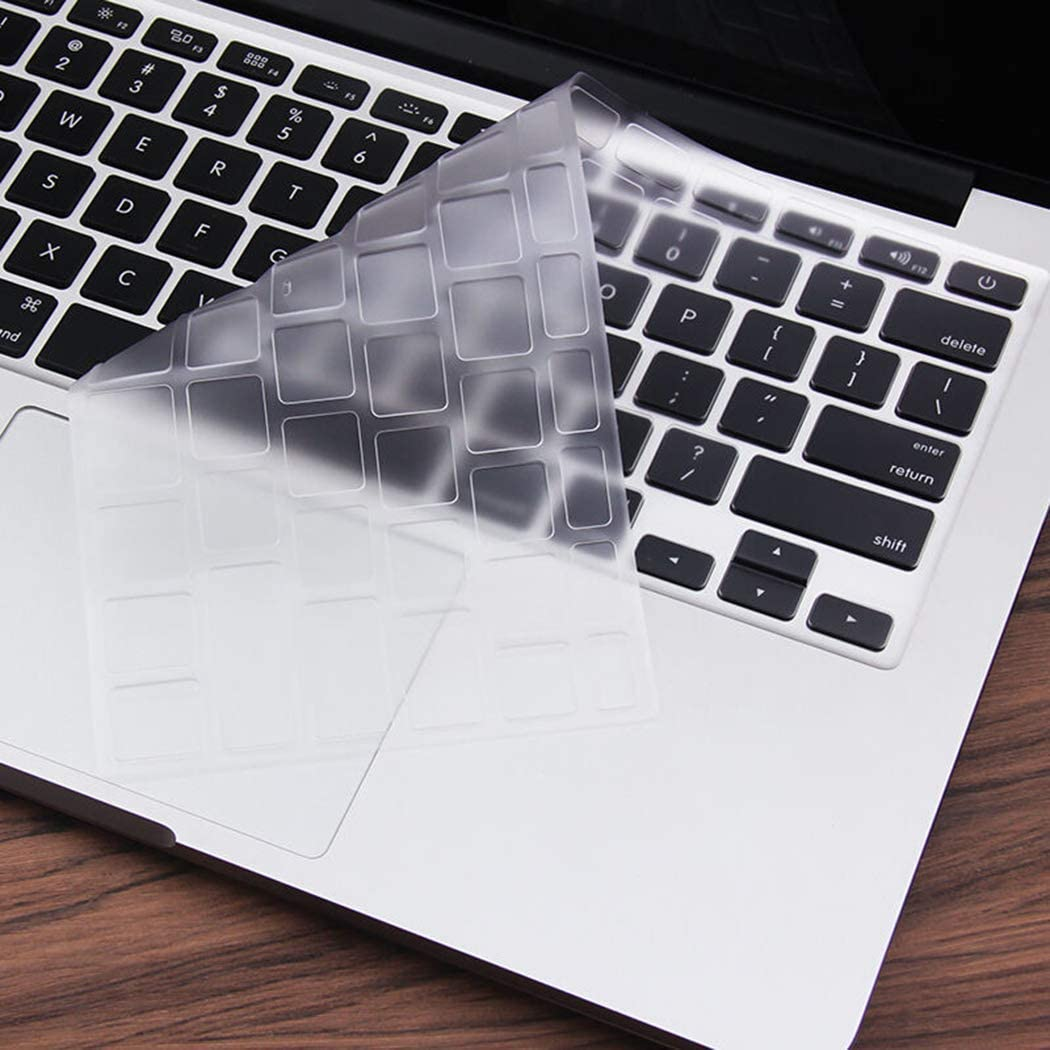 Cubierta del teclado EooCoo para MacBook Air 13transparente