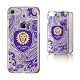 Keyscaper Orlando City Soccer Club Paisley iPhone 6/7/8 Clear Slim Case MLS