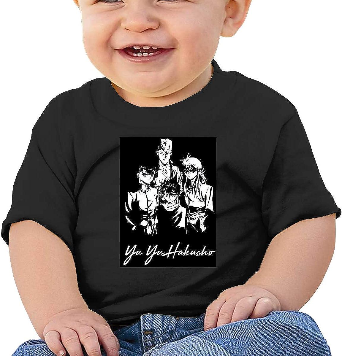 Kangtians Baby Yu Yu Hakusho Short Sleeve Shirt Toddler Tee