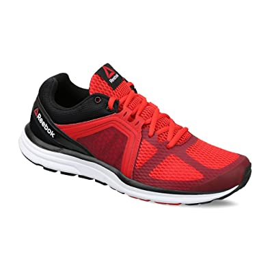 Reebok Men's Reebok Exhilarun 2.0 Red, Merlot, Black and White Running Shoes  - 8