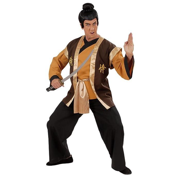 Samurai Disfraz Ninja Traje Asia Guerrero Ninja Disfraz ...