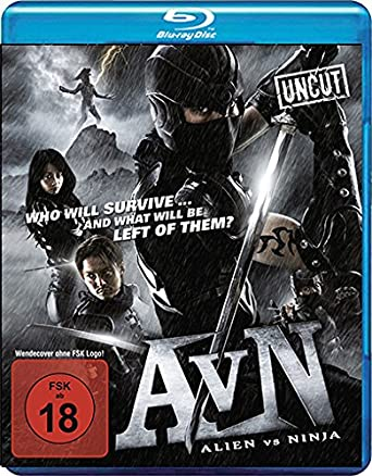 Alien vs. Ninja - Uncut [Blu-ray] [Alemania]: Amazon.es ...