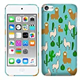iPod Touch 6 Case, iPod Touch 5 Case - llama and Cactus Pattern