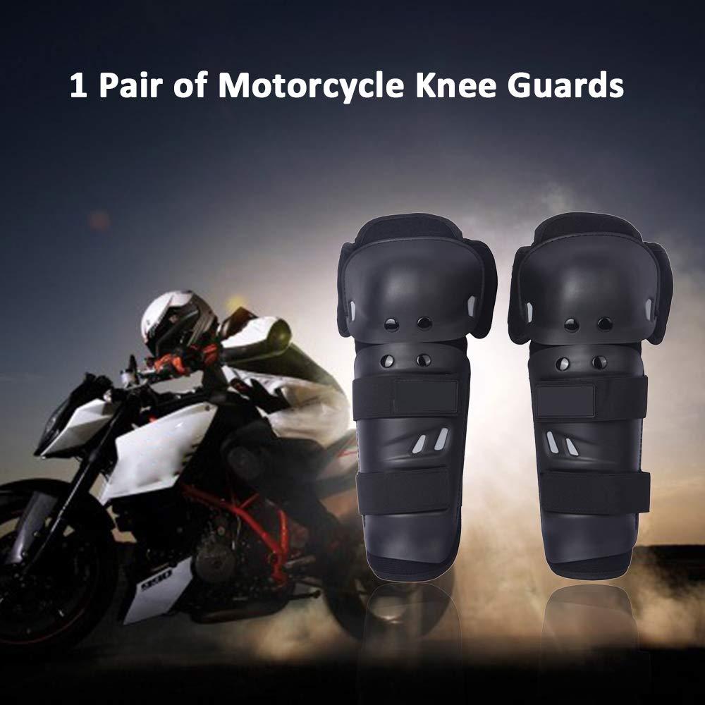 Explopur Moto Rodillera Protector de Rodilla de Carreras de Motor