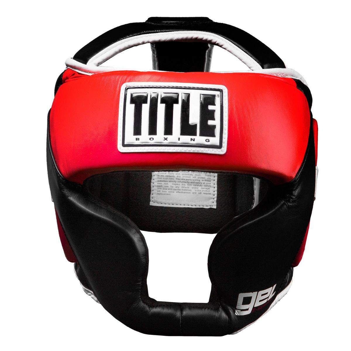 Title Boxing Gel E-Series Full Headgear