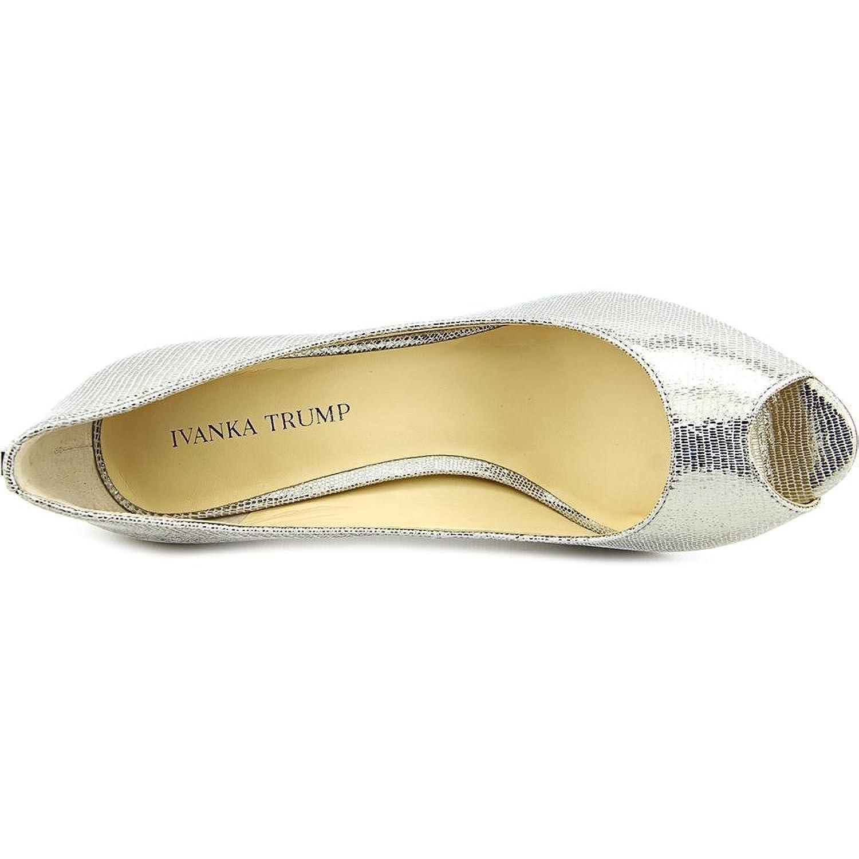 Amazon Ivanka Trump Women s Cleo5 Pewter Lizard Sandal