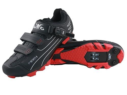 Raiko Sportswear - Zapatillas de Ciclismo para Hombre: Amazon.es: Zapatos y complementos